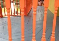 Painters balcon en bois Ile Perrot