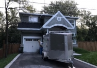 house and garage exterior painting