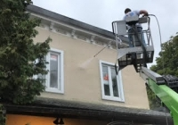painting a cornice