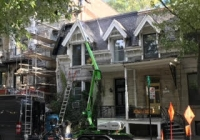 dormers and roof painting