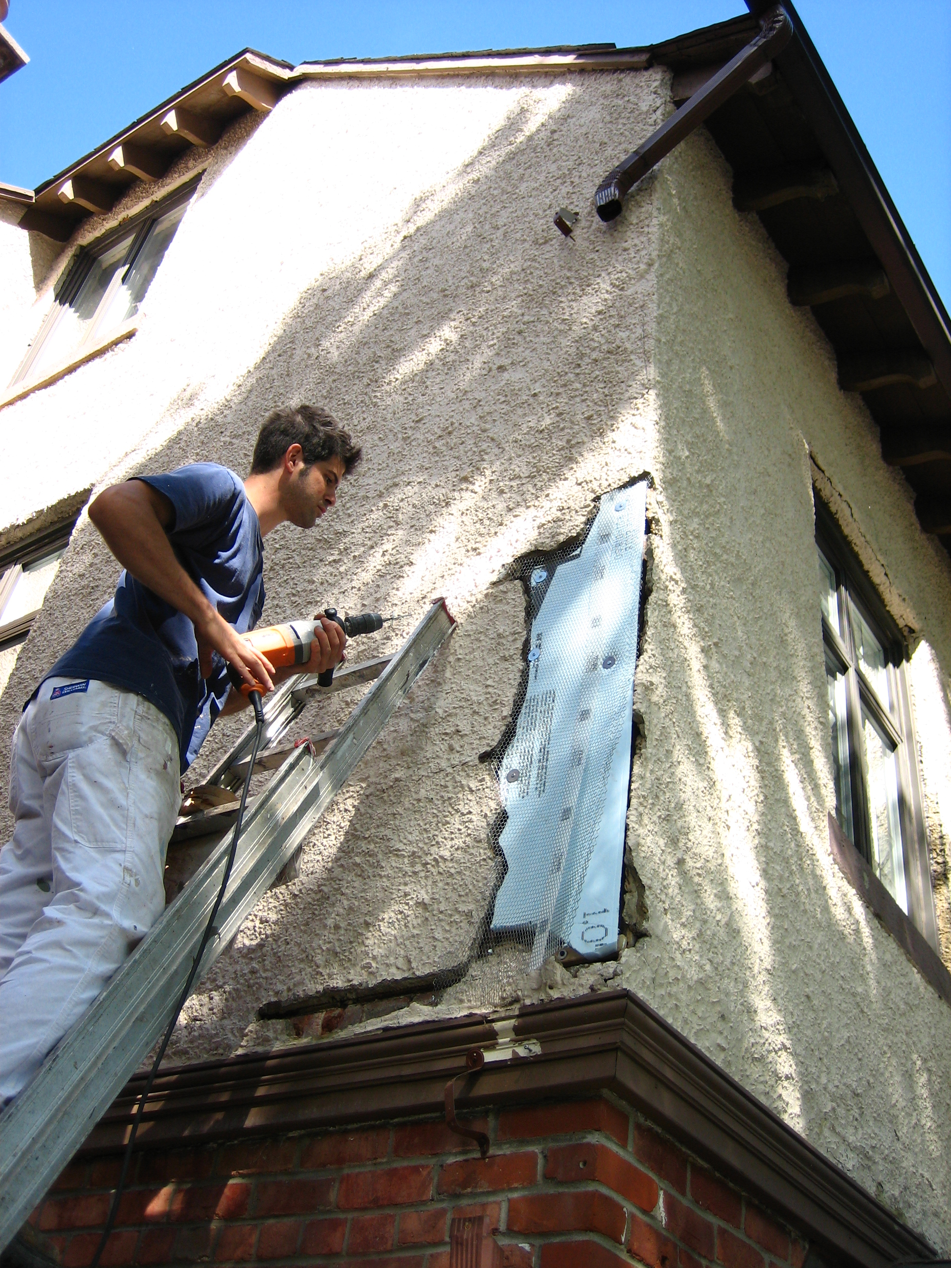 How To Repair And Paint Stucco