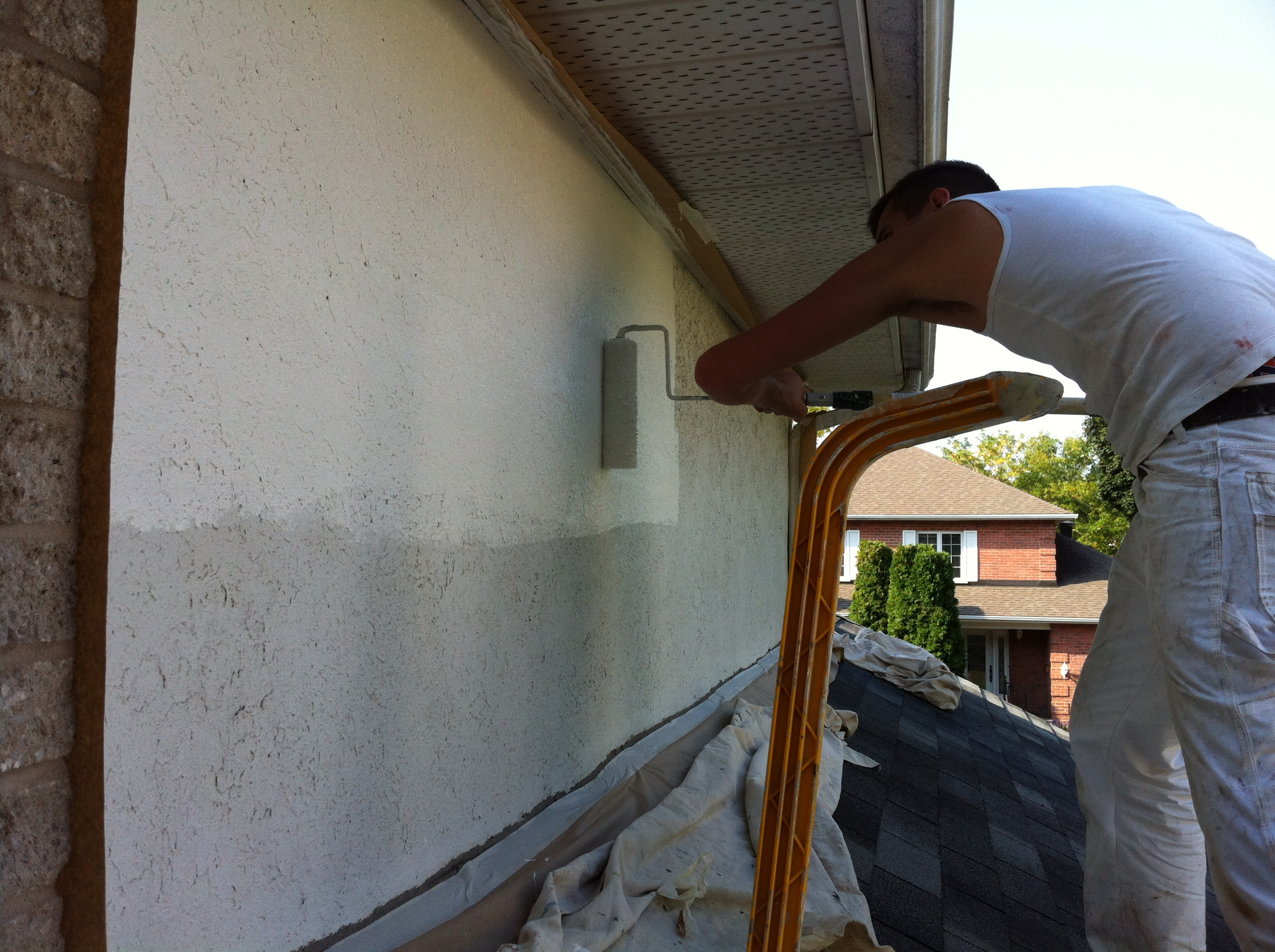 Exterior Painting Temperature Celsius